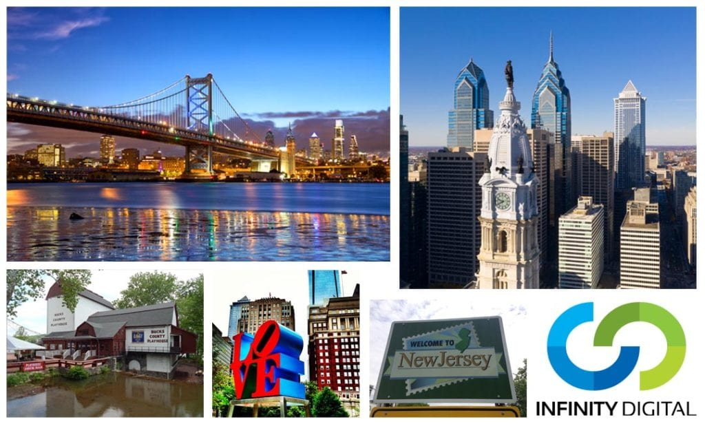 philadelphia bucks county south jersey seo digital marketing company infinity digital agency